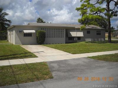 Fort Lauderdale Single Family Home Active With Contract: 3300 SW 17th St