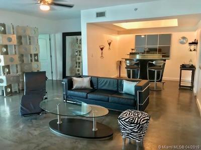 Miami Beach Rental For Rent: 110 Washington Ave #1508