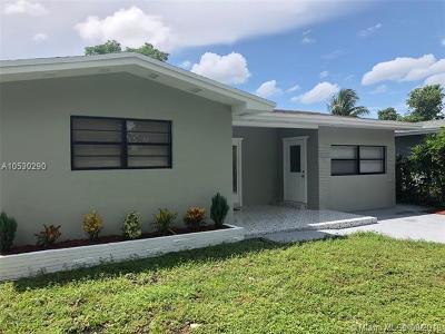 North Miami Beach Single Family Home For Sale: 1250 NE 159th St