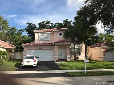 Margate Single Family Home For Sale: 7365 NW 24th St