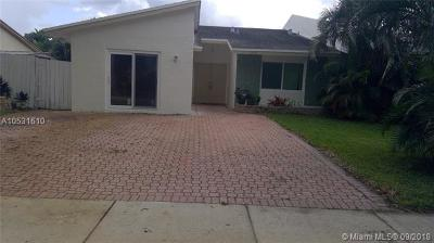 Margate Single Family Home For Sale: 6140 SW 4th St