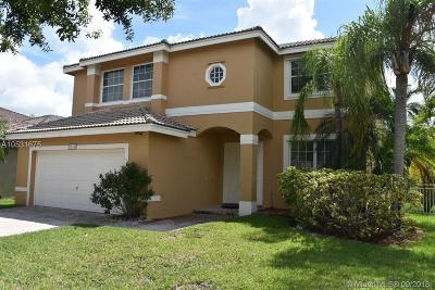 Pembroke Pines, Miramar Single Family Home For Sale: 2818 SW 177th Ave