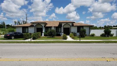 Homestead Multi Family Home For Sale: 26735 SW 139th Ave