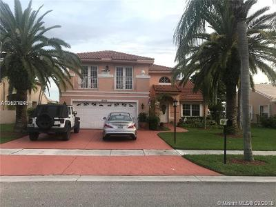 Pembroke Pines Single Family Home For Sale: 18760 NW 5th St