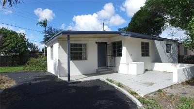 Opa-Locka Single Family Home For Sale: 1225 Vermont St