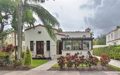 Coral Gables Single Family Home For Sale: 1226 Pizarro St