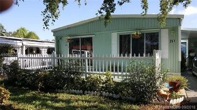 Davie Single Family Home For Sale: 10550 W State Road 84