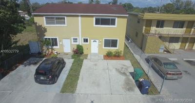 Opa-Locka Single Family Home For Sale: 3141 NW 132nd Ter
