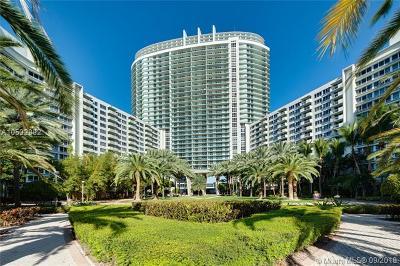 Miami Beach Condo For Sale: 1500 Bay Rd #844S