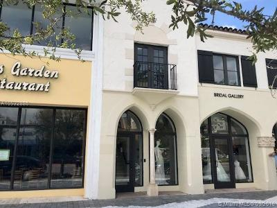 Coral Gables Commercial For Sale: 320 Miracle Mile #201