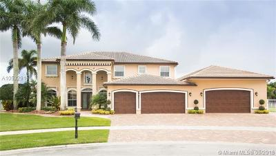 Cooper City Single Family Home For Sale: 4760 Sunkist Way