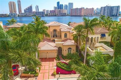 Aventura Single Family Home For Sale: 3924 Island Estates Dr