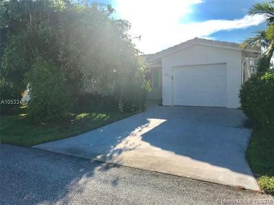 Boynton Beach Single Family Home For Sale: 1606 SW 17th Ter