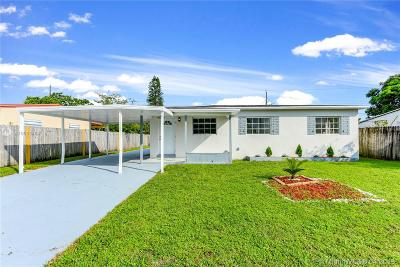 Opa-Locka Single Family Home For Sale: 2531 NW 140th St