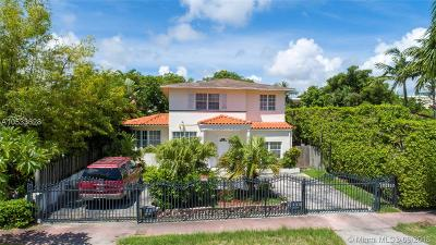 Miami Beach Single Family Home For Sale: 4560 Post Ave