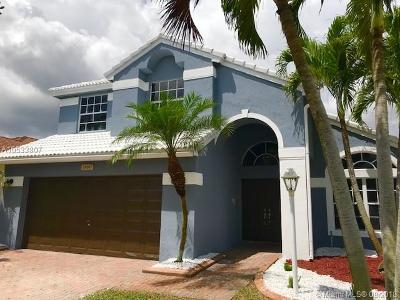 Pembroke Pines Single Family Home For Sale: 1480 NW 144th Ave