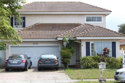 Fort Lauderdale Single Family Home For Sale: 2510 NW 15th St
