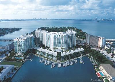 North Bay Village Condo For Sale: 7900 Harbor Island Dr #1423