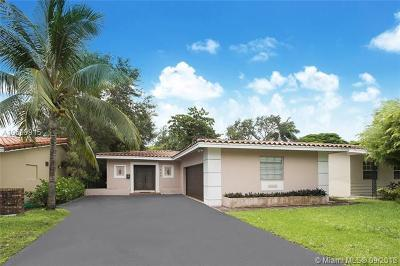 Coral Gables Single Family Home For Sale: 664 Bird Rd.