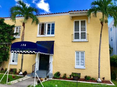 Coral Gables Condo For Sale: 126 Mendoza Ave #3