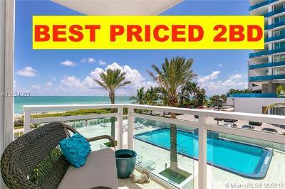 Miami Beach Condo For Sale: 6917 Collins Ave #403