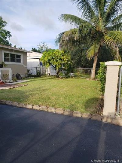Fort Lauderdale Single Family Home For Sale: 817 NW 17th Street