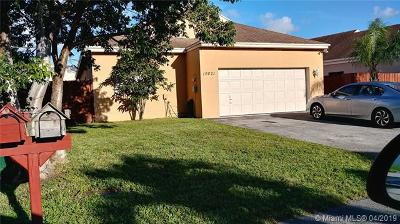 Hialeah Single Family Home For Sale: 19021 NW 80th Ct