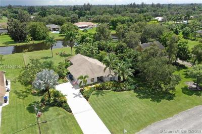 Southwest Ranches Single Family Home For Sale: 5200 SW 201st Ter