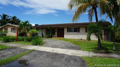 Cutler Bay Single Family Home For Sale: 19600 SW 87th Ave