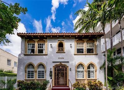 Miami Beach Condo For Sale: 1528 Drexel Ave #1B