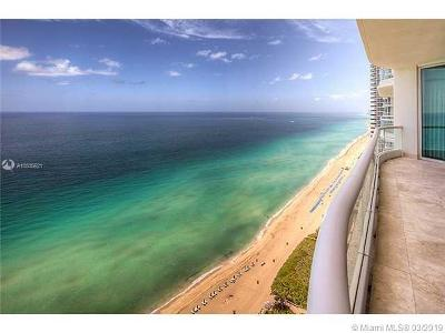 Sunny Isles Beach Rental For Rent: 16051 Collins Ave #2703