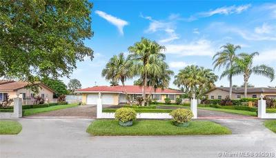 Miami Single Family Home For Sale: 3240 SW 128th Ave