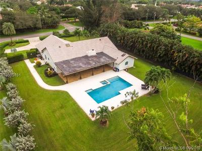 Plantation Single Family Home For Sale: 11800 NW 5th St