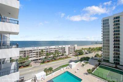 Pompano Beach Condo For Sale: 531 N Ocean Blvd #1108