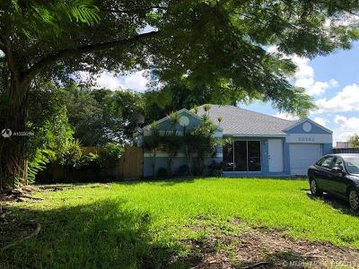 Cutler Bay Single Family Home For Sale: 20792 SW 104th Ct