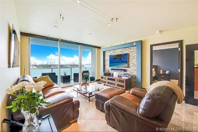 Miami Beach Condo For Sale: 650 West Ave #909