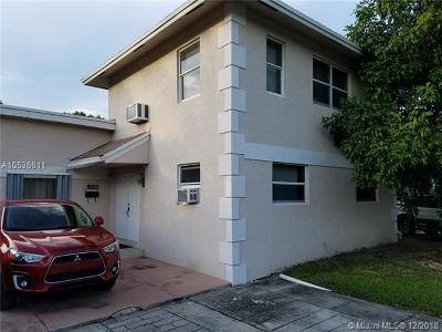 Fort Lauderdale Single Family Home For Sale: 1033 NW 12th St