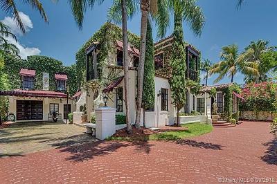 Miami Beach Single Family Home For Sale: 4436 Alton Rd