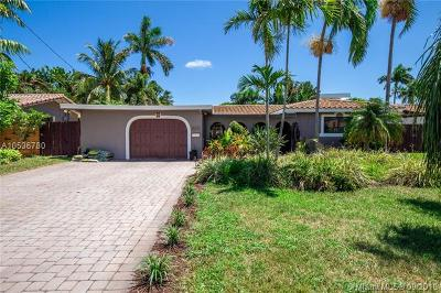 Wilton Manors Single Family Home For Sale: 2008 NE 22nd St