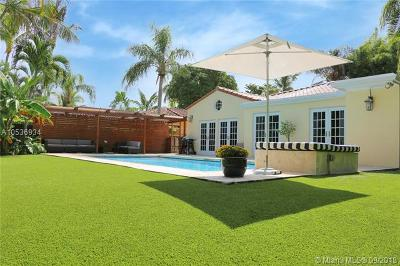 Miami Single Family Home For Sale: 2441 Tigertail Ave