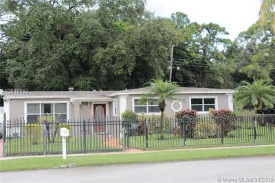 Miami Gardens Single Family Home For Sale