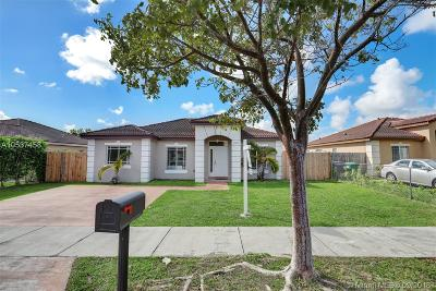 Homestead Single Family Home Active With Contract: 13252 SW 251st Ln