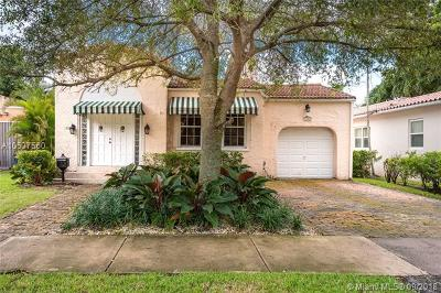 Coral Gables Single Family Home For Sale: 1308 Genoa St