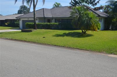 Coral Springs Single Family Home Active With Contract: 671 NW NW 82nd Terrace