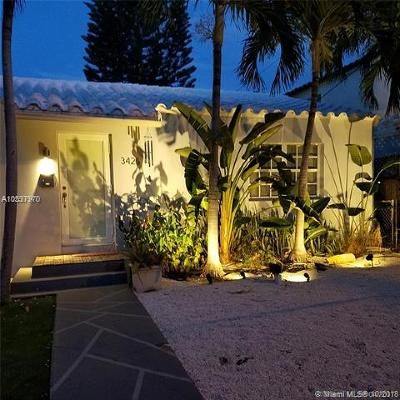Miami Beach Single Family Home For Sale: 3425 Garden Ave