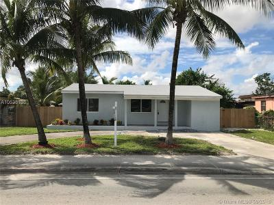 Opa-Locka Single Family Home For Sale: 2830 NW 135th St