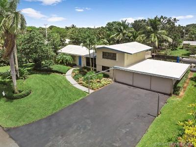 Fort Lauderdale Single Family Home For Sale: 2412 Nassau Ln