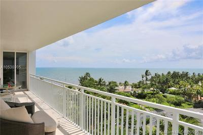 Key Biscayne Condo For Sale: 605 Ocean Drive #8M