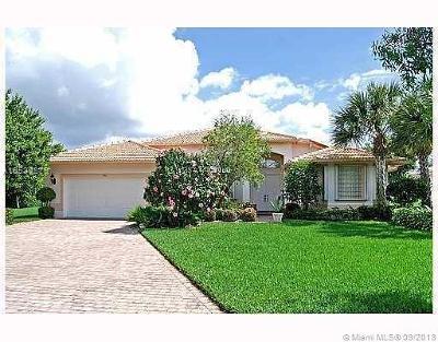 Boynton Beach Single Family Home For Sale: 7110 E Falls Rd E