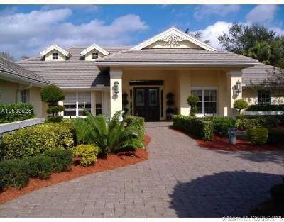 Coral Springs Single Family Home For Sale: 8033 NW 47th Dr